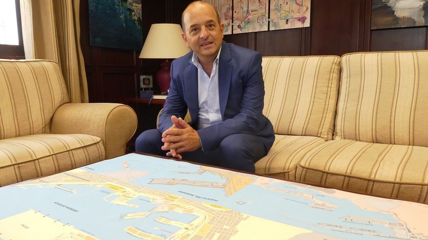 Juan José Cardona, presidente de la Autoridad Portuaria de Las Palmas