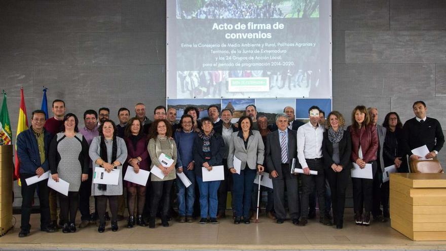 Grupos de Accion Local Extremadura GAL
