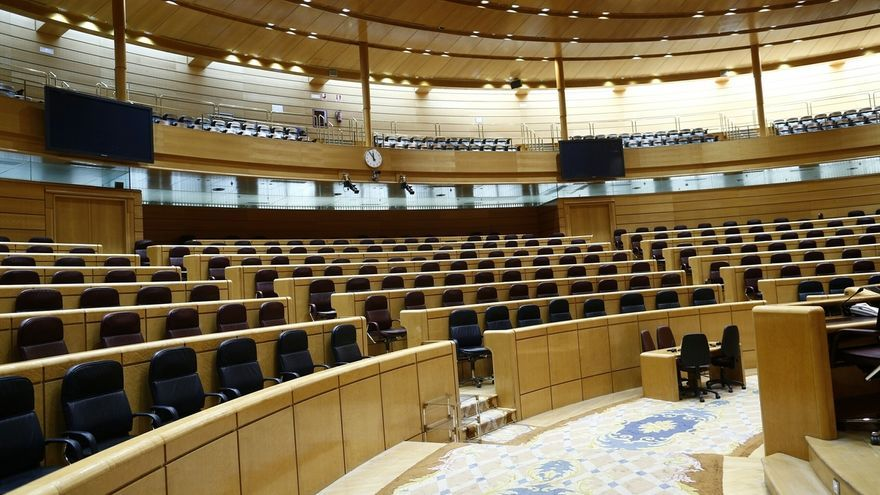 El Senado aplaza por tercera vez el reparto de escaños del hemiciclo para lograr el acuerdo entre partidos