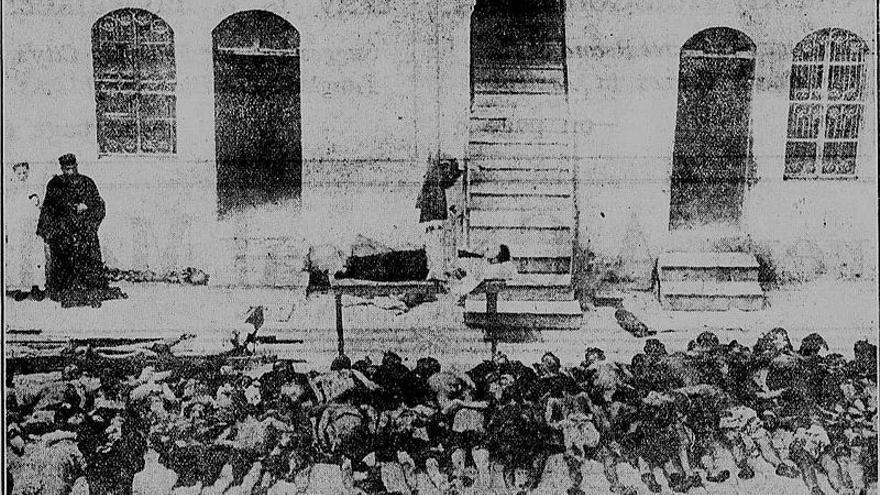 40 armenios masacrados durante el genocidio de 1919