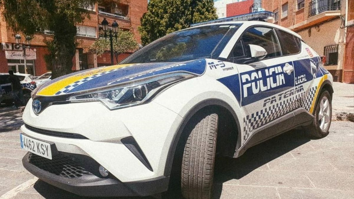 Vehículo de la Policía Local de Paterna.