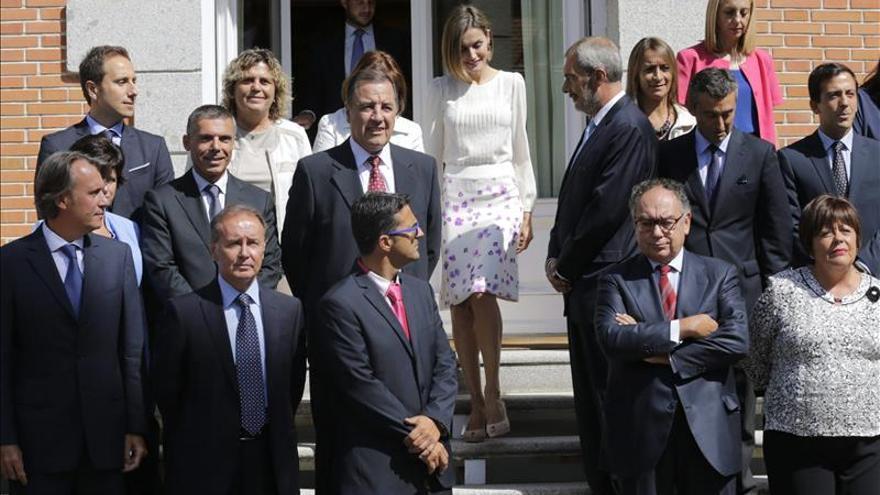 """La Reina Letizia, con la fundación """"Lo que de verdad importa"""""""