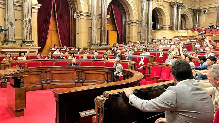 El Parlament catalán se ratifica en la defensa del ejercicio de la autodeterminación