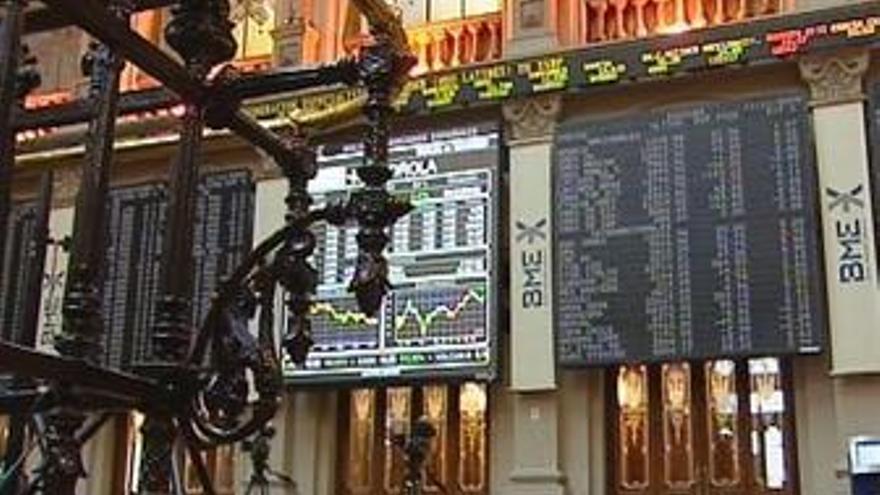 Plano general de la Bolsa de Madrid