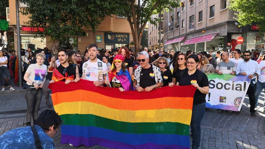 Celebración del Orgullo Gay en Salamanca el año pasado
