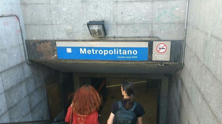 Acceso a la estación de Metropolitano | SOMOS CHAMBERÍ