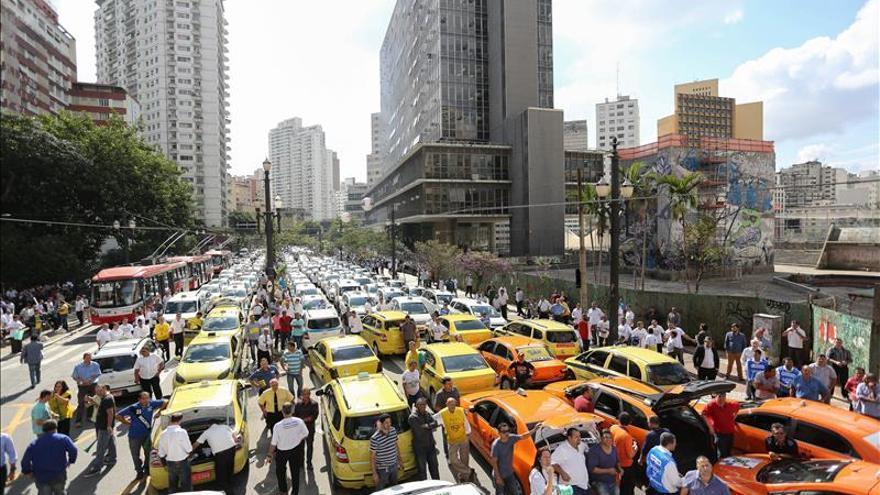 La ciudad de Sao Paulo prohíbe el uso de la aplicación Uber