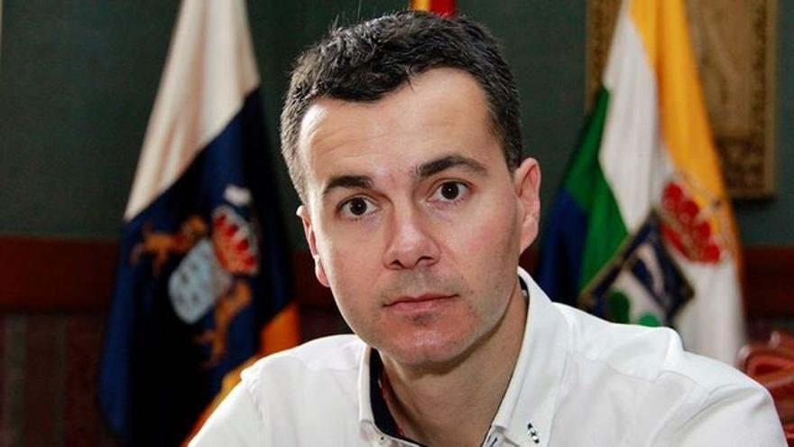 Héctor Gómez, presidente de la Gestora socialista en la isla de Tenerife