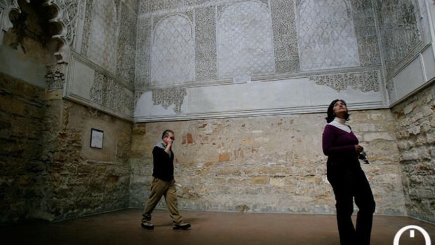 Imagen del interior de la Sinagoga de Córdoba.   MADERO CUBERO