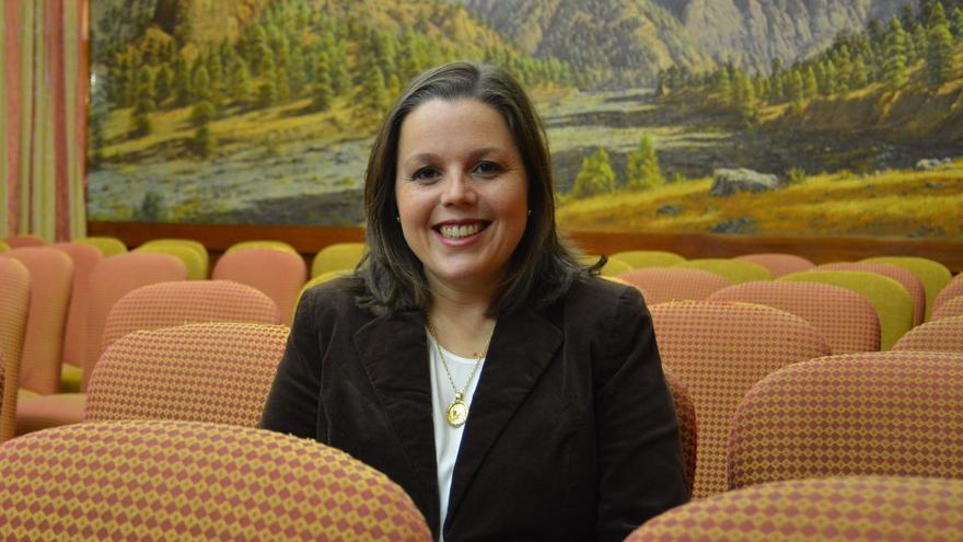 Laura Paz, consejera de Empleo del Cabildo de La Palma.