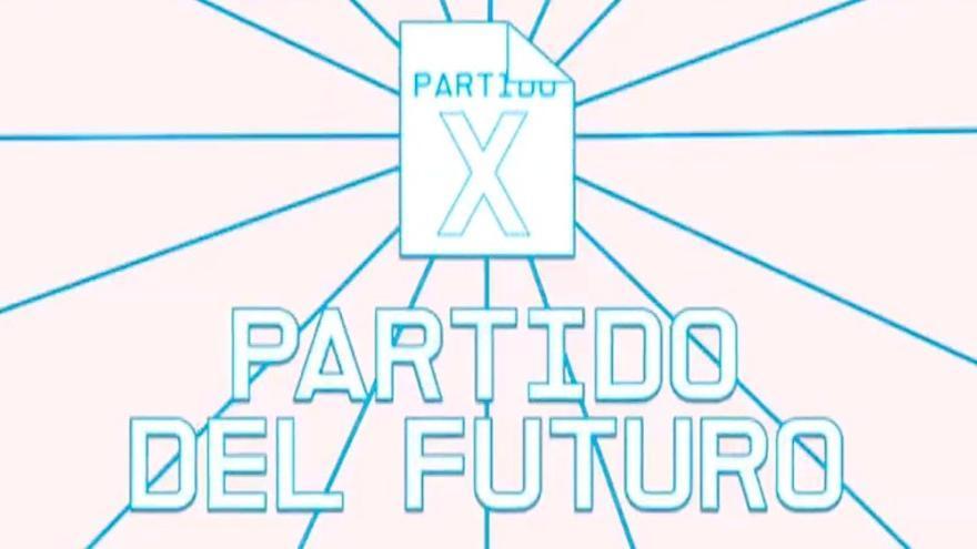 Logo del Partido X - Partido del futuro