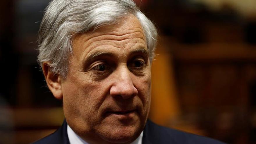 El grupo mayoritario en la Eurocámara postula a Tajani como presidente