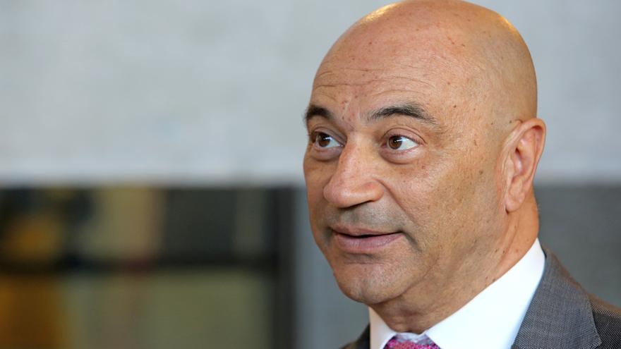 Antonio Doreste, presidente del Tribunal Superior de Justicia de Canarias. (ALEJANDRO RAMOS)