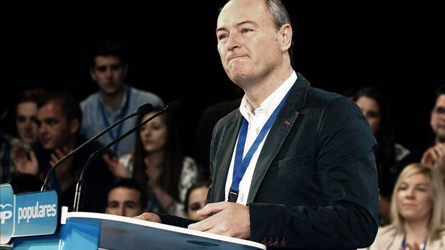 Alberto Fabra, presidente de la generalitat valenciana