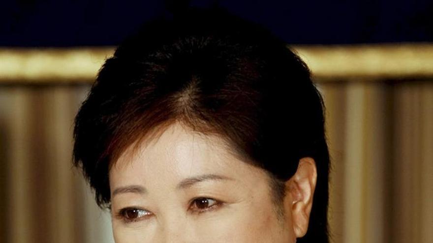 La primera mujer en optar al Gobierno de Tokio parte como favorita