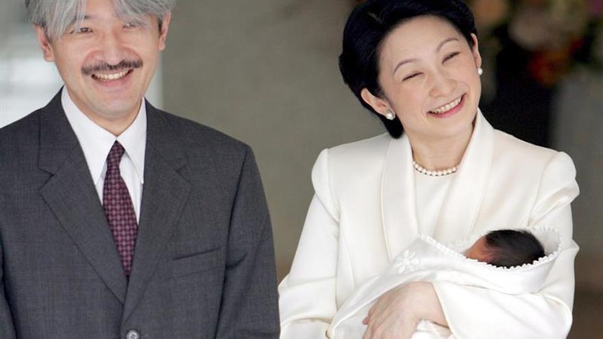 El Príncipe Hisahito, tercero en la línea de sucesión al trono japonés, cumple 10 años