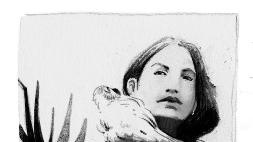 La activista salvadoreña Nicole Santamaría, dibujada por Susanna Martín para '10 ingobernables' (Libros del K.O.)