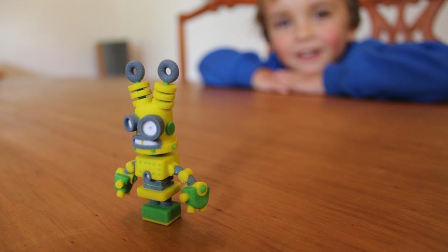 Existen programas de modelado 3D adaptados para los más pequeños