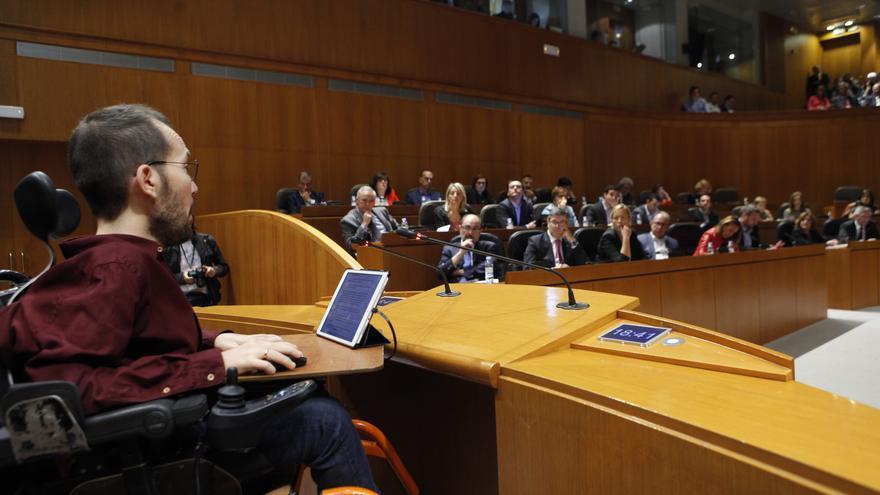 Echenique interviene en el Debate sobre el estado de la Comunidad.