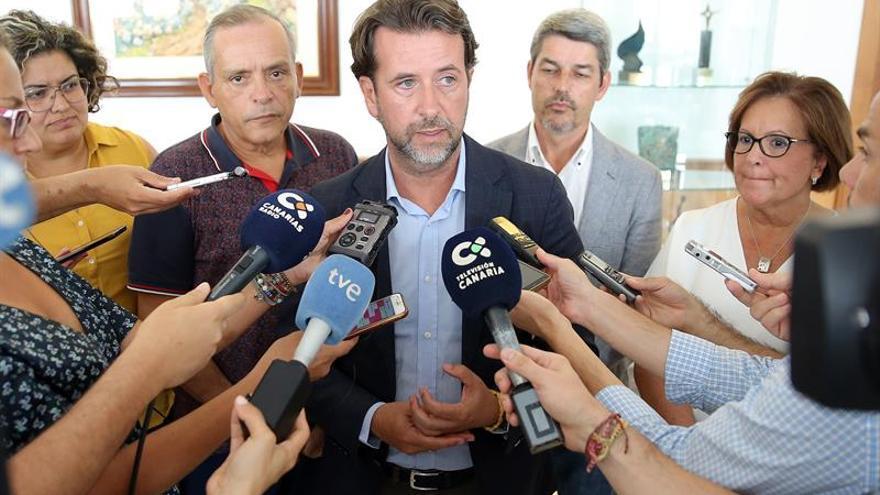 Carlos Alonso, tras conocer la moción de censura contra él en el Cabildo de Tenerife