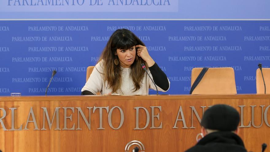 Teresa Rodríguez, tras el Egopa, marca como reto de Podemos dar a conocer su trabajo parlamentario y crecer en comarcas
