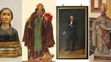 La DPZ restaura cuatro obras de arte de la colección provincial fechadas en los siglos XVI, XVIII y XIX