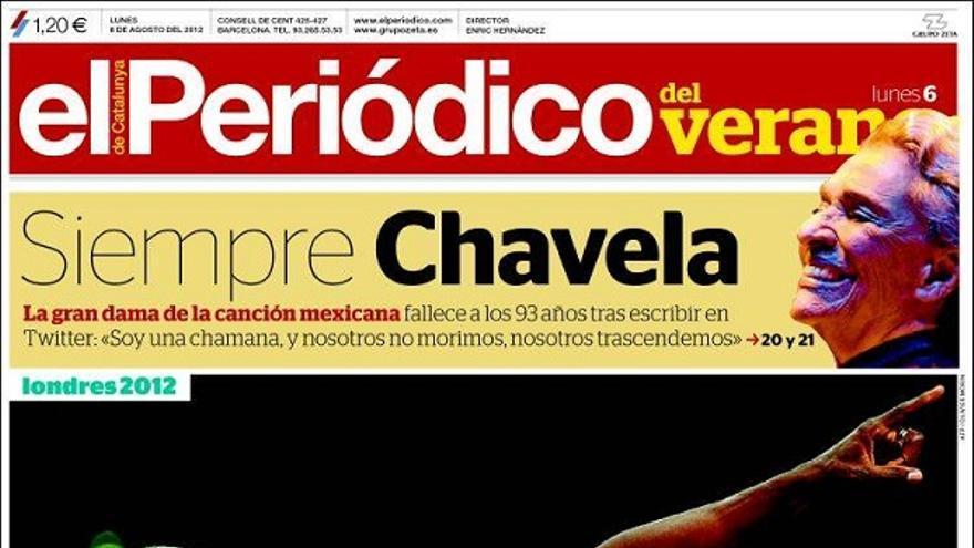 De las portadas del día (06/08/2012) #9