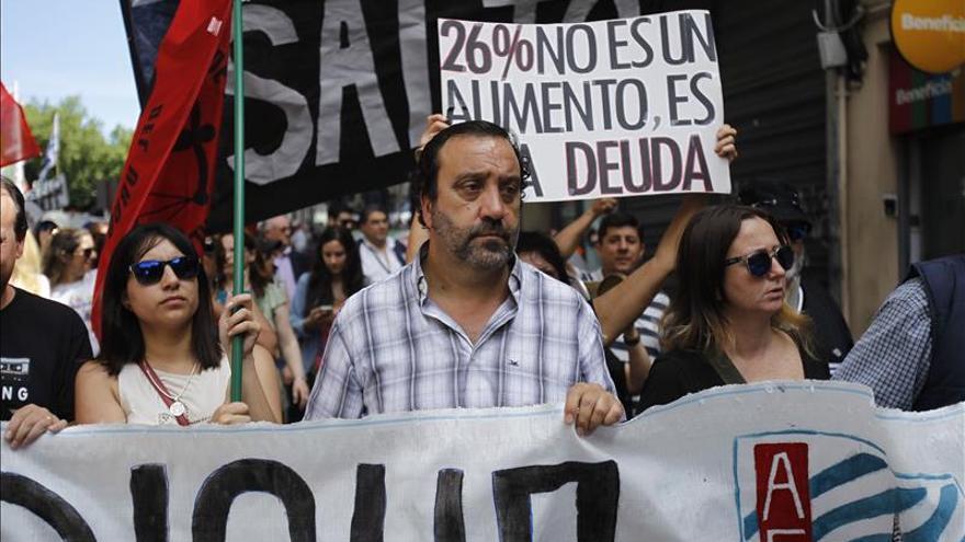 Funcionarios judiciales uruguayos protestan por falta de presupuesto