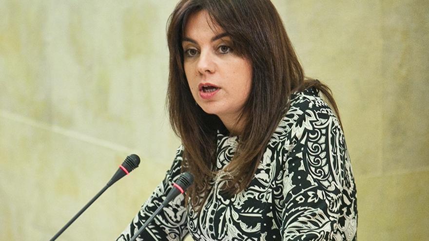Silvia Abascal, portavoz del PSOE en el Parlamento de Cantabria.