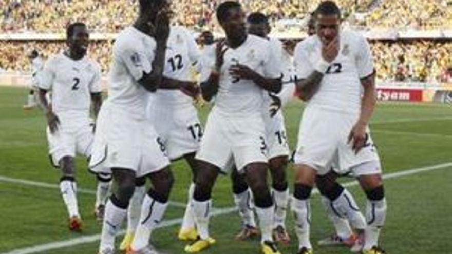 Ghana es el único equipo africano en octavos del Mundial.