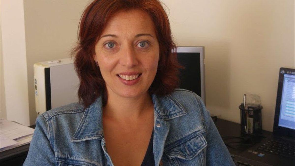 Eva Muñoz, secretaria técnica de la Asociación de Criadores de Cabras de Raza Palmera.