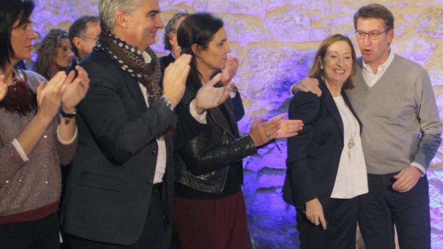 """Feijóo dice que no votar al PP es votar """"proyectos personalistas"""""""