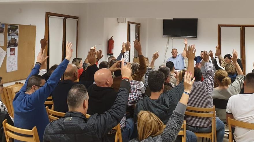 Reunión del Comité Local de CC en Los Llanos de Aridane donde se eligió por unanimidad a los miembros de la lista de la candidatura que encabeza Francisco Montes de Oca.