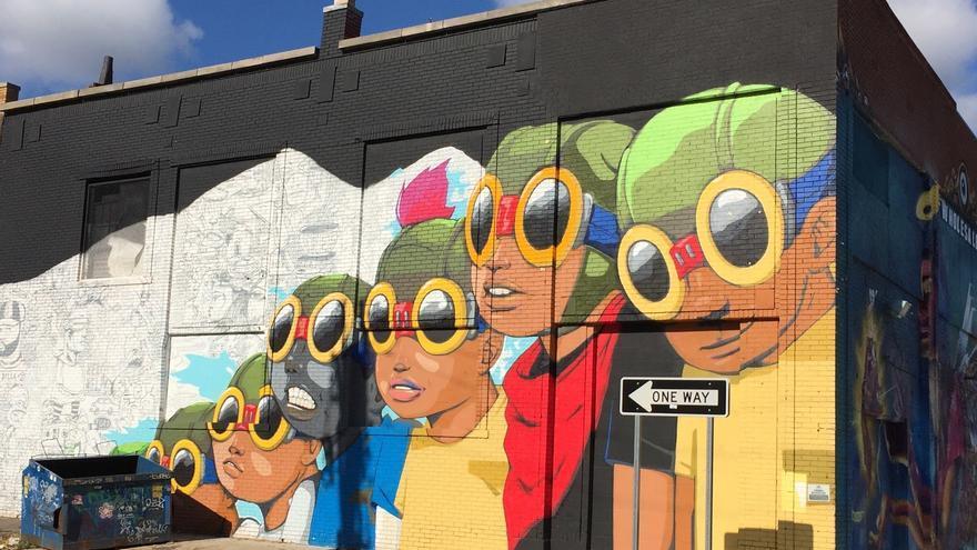 Grafiti en Detroit, la ciudad americana donde el capitalismo ya ha implosionado