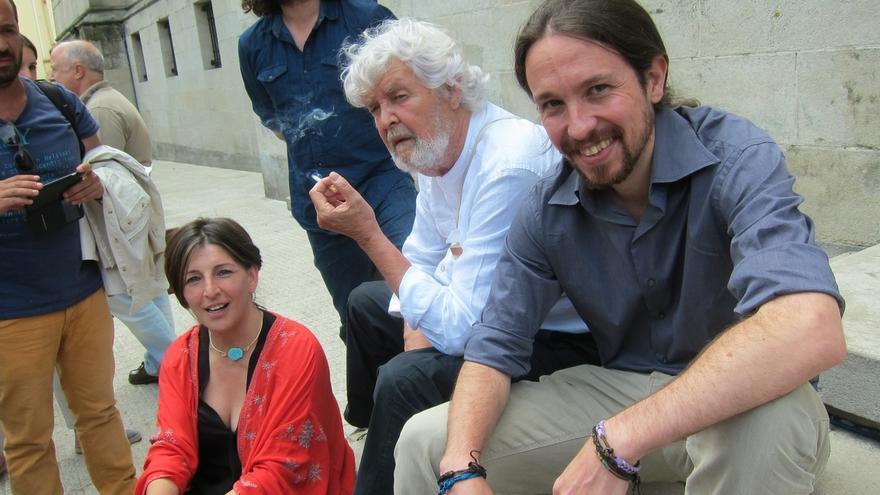 Beiras se vuelca en las cuatro provincias en la última semana e Iglesias acudirá a un acto matinal en A Coruña