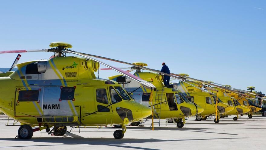 Helicópteros de Hispánica de Aviación