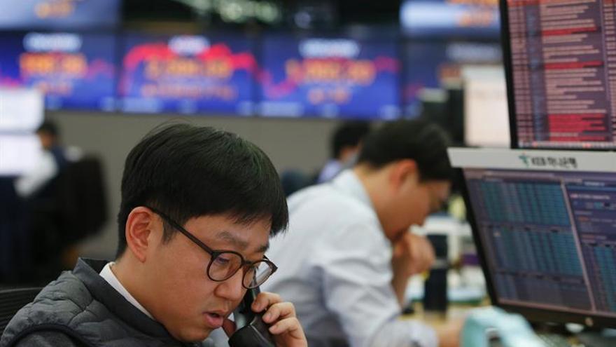 La Bolsa de Seúl sube un 0,62 en la apertura