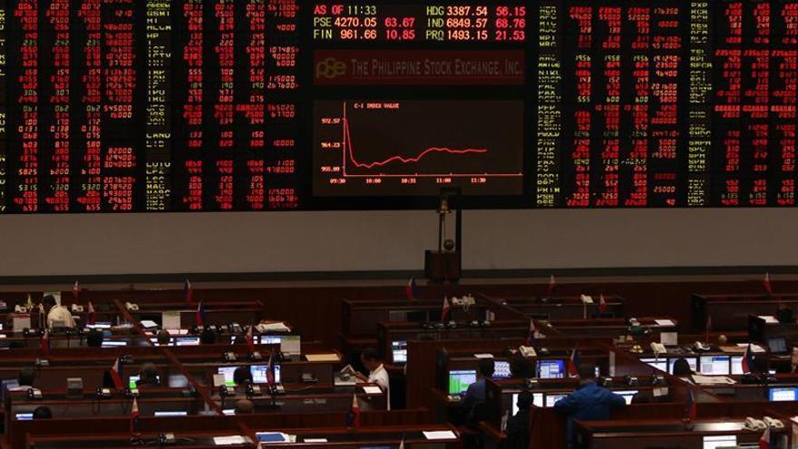 La mayoría de bolsas del Sudeste Asiático abren con pérdidas