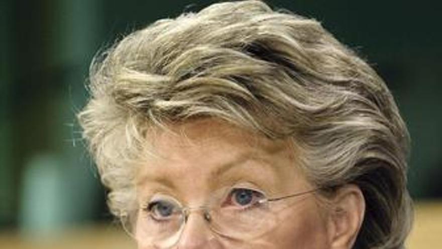 La comisaria de la Sociedad de la Información, Viviane Reding