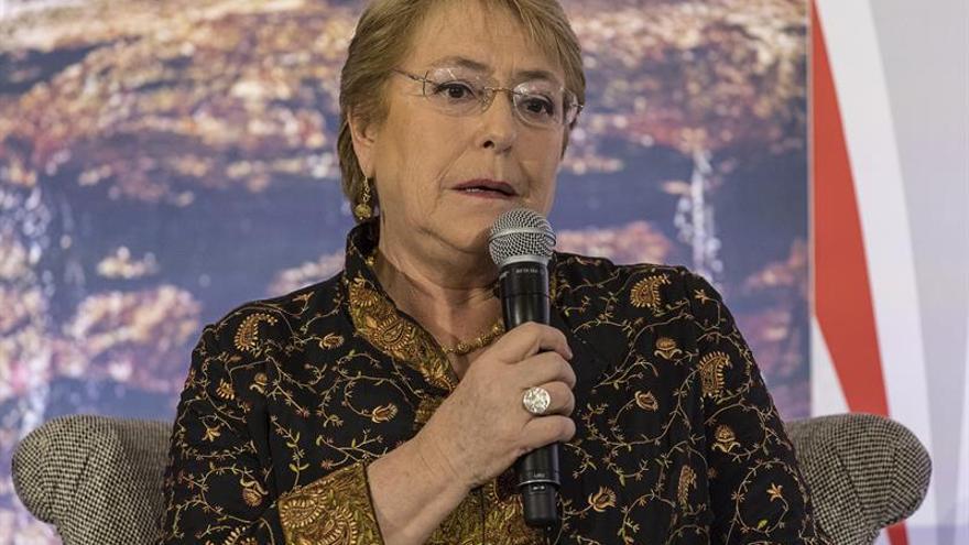"Bachelet dice sentir ""cierta esperanza"" respecto a la crisis de Venezuela"