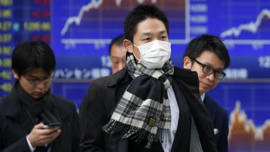 El Nikkei pierde un 0,33 por ciento hasta los 15.744,26 puntos