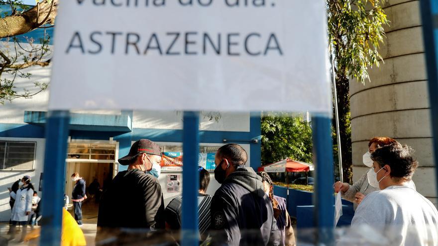 Brasil encadena tres semanas con casos y muertes por covid-19 a la baja