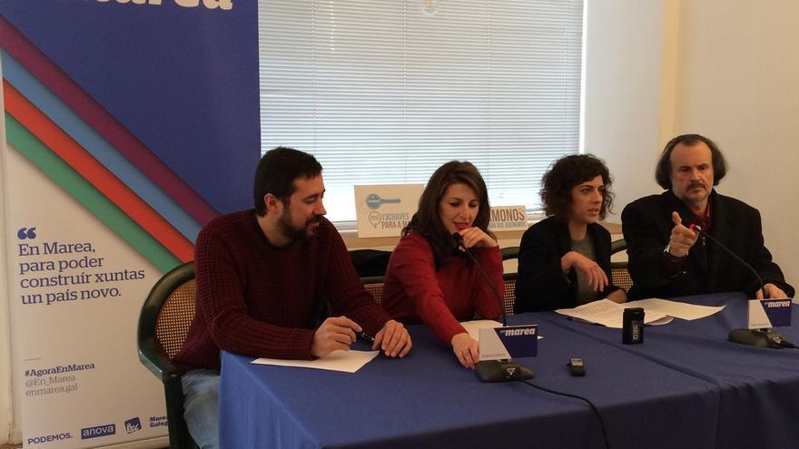 """En Marea aspira a ser """"primera fuerza"""" en las autonómicas y reivindica su peso en el Congreso"""