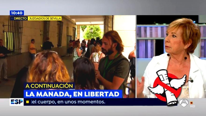 Celia Villalobos en Espejo Público (Antena 3)