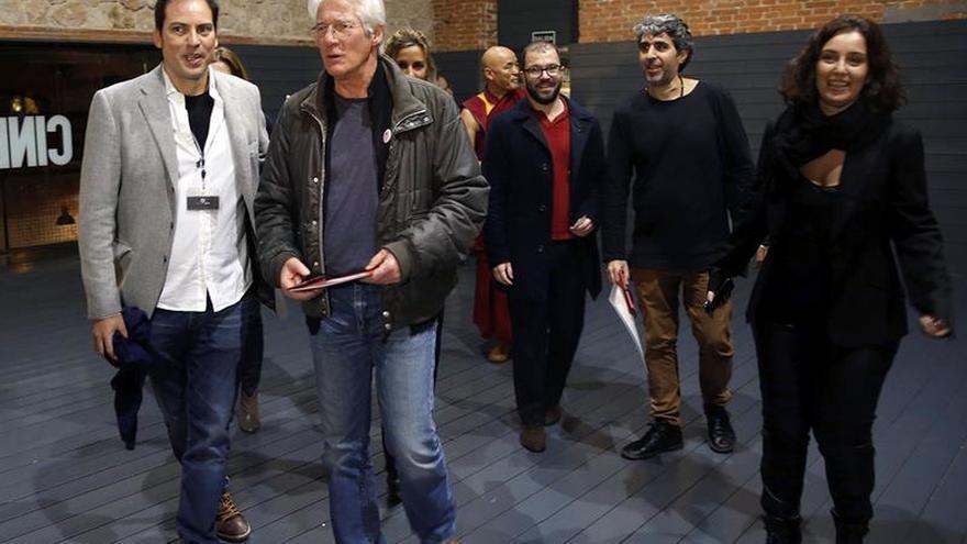 Richard Gere asiste a la presentación en Madrid de un documental del Tibet