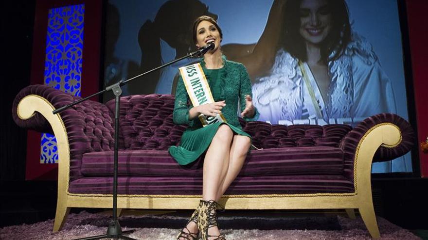 Miss Internacional 2015 quiere incentivar el voto en comicios venezolanos