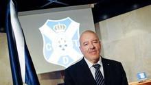 Miguel Concepción, presidente del CD Tenerife