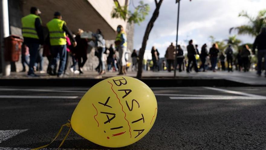 Los sindicatos mayoritarios en el Gobierno canario lamentan que la huelga de interinos retrase la negociación colectiva