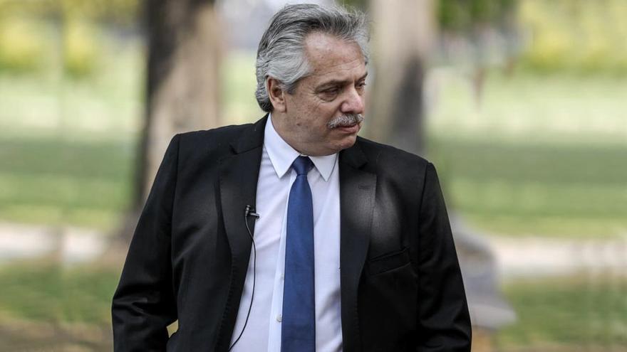 Alberto Fernández tiene un cuadro leve y está estable tras su positivo por Covid-19