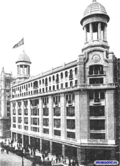 El edificio tal y como era al principio